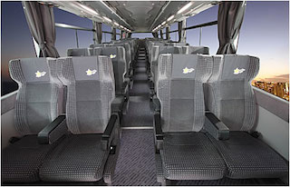 夜行バスシート例:出典:OTBライナー